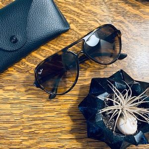 Ray-Ban Cats 5000 TortoiseShell Aviator Sunglasses